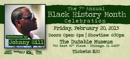 BLACK HISTORY CELEBRATION WITH JOHNNY GILL