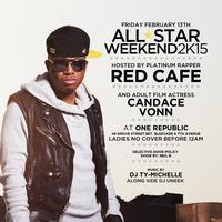 """KID NOVICE ALL-STAR PARTY HOSTED BAD BOY'S """"RED CAFE"""""""