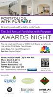 The 3rd Annual Portfolios with Purpose Awards Night