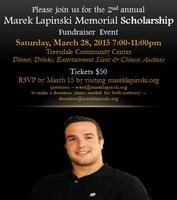 Marek Lapinski Memorial Scholarship Fundraiser Event