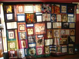 Triangle Fire Memorial Quilt Reception