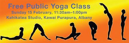 Free Public Yoga Class