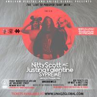 NITTY SCOTT MC, JUSTINA VALENTINE & SVPREME LIVE AT...