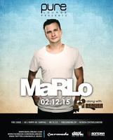 Free Guest List for MaRLo at Pure Lounge