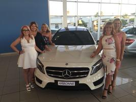 Tara's Arbonne Mercedes Benz Car Presentation