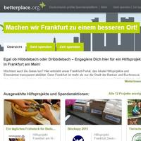Spenden sammeln im Internet mit betterplace.org