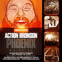 The UBEENJACKED Experience presents ACTION BRONSON
