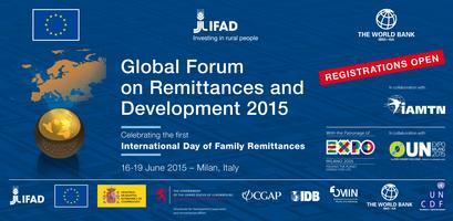 Global Forum on Remittances and Development 2015