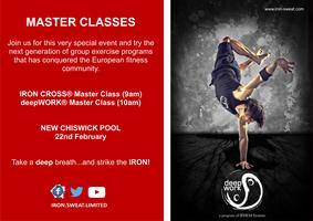 deepWORK® and IRON CROSS® Master Classes in Chiswick