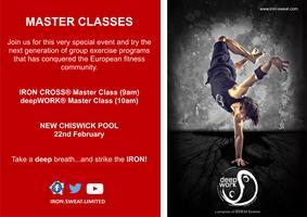 deepWORK® and IRON CROSS® Master Classes in Chiswick