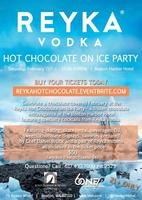 Reyka Hot Chocolate on Ice