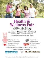 Health & Wellness Fair~Family Day