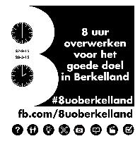 8 uur overwerken Berkelland voor goede doelen