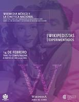 Editatón: Wikipedia ama el cine.