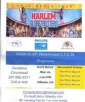 Harlem Globetrotters Mar 16, 1PM Atlanta GA