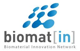 CLOSING EVENT OF THE BIOMATERIALS INNOVATION NETWORK...