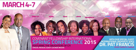 Covenant Fellowship International Spring Conference...