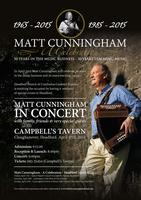 Matt Cunningham - 50 Years in Music - SOLD OUT!