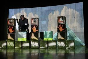 Video Mapping Using Painting With Light (extra date...