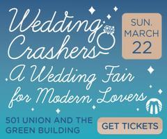 Wedding Crashers Spring Wedding Fair 2015