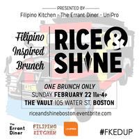 Rice And Shine: Filipino Brunch in Boston