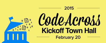 CodeAcross NYC 2015 Kickoff & Town Hall with Dr....