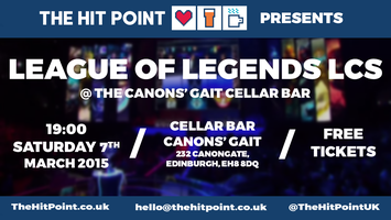 League of Legends NA LCS Night @ The Canons' Gait