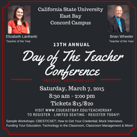 13th Annual Day of The Teacher Conference - Success:...