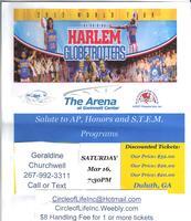 Harlem Globetrotters Mar 16, 7:30PM Duluth GA