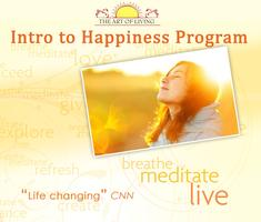 FREE MEDITATION & INTRO TO HAPPINESS PROGRAM