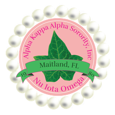 Ivy Tea Rose, Inc & Nu Iota Omega Chapter, Alpha Kappa Alpha Sorority, Inc logo
