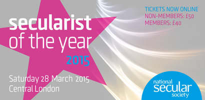Secularist of the Year 2015