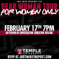 """""""For Women Only"""" Workshop Hosted by Just Mike (Temple..."""