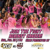 VCU Women's Basketball PINK OUT
