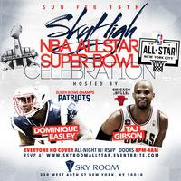 All Star Wknd Finale | Skyroom night time event | King...