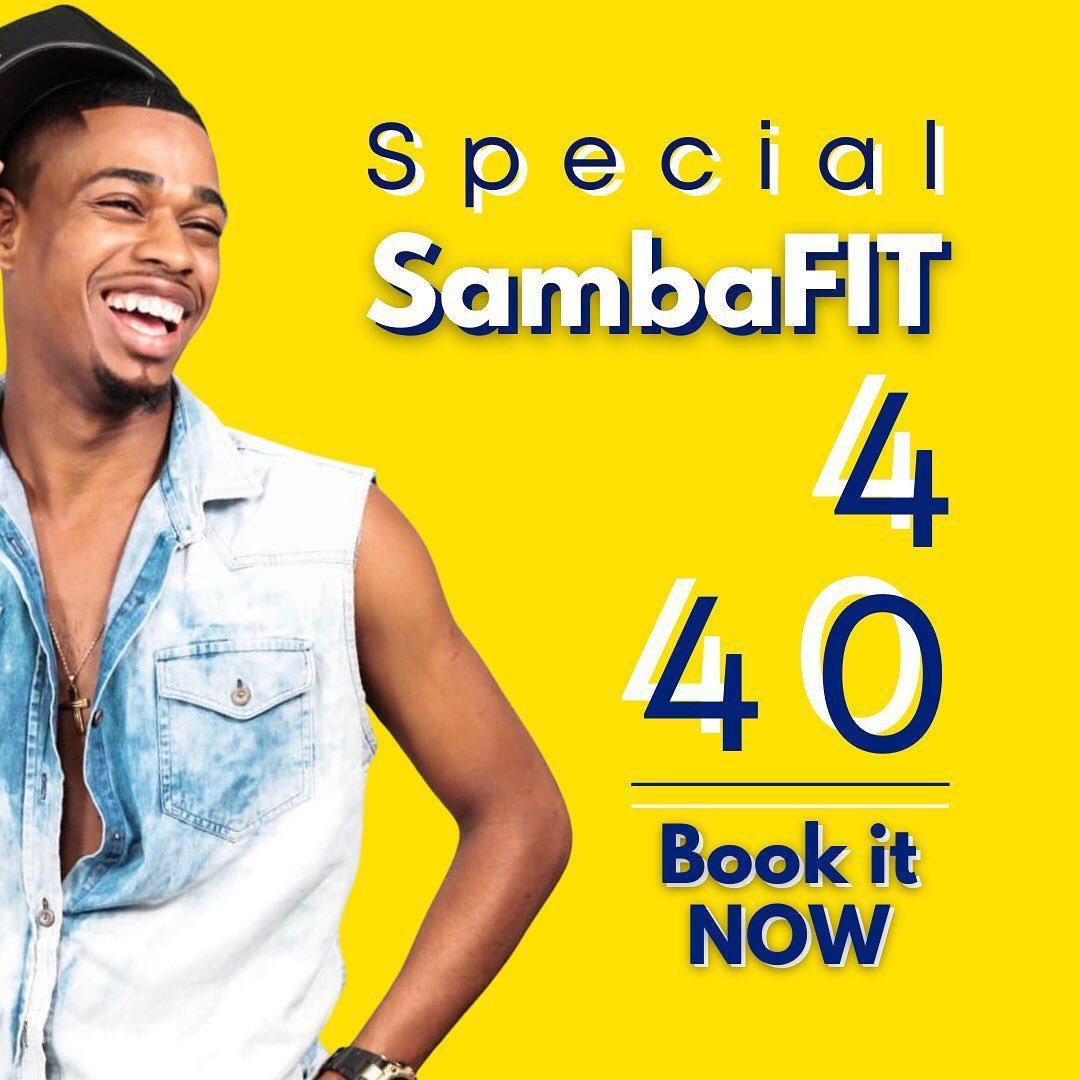 SambaFIT (4 class for $40)