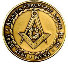 Atlanta Peachtree Lodge #59, F. & A. M. logo