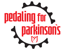 Pedaling for Parkinson's logo