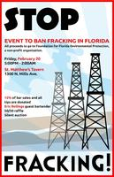 Fundraiser to Stop Fracking in Florida