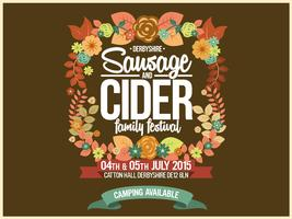 Derbyshire Sausage & Cider Family Festival 2015