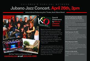 Sponsor a Child: ¡JubanoJazz! Concert Presenting Aaron...