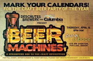 Beer Machines: A Steampunk Ode To The Craft Revolution