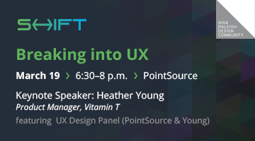 SHIFT: Heather Young – Breaking into UX