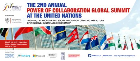 2nd Annual POWER of COLLABORATION at the United Nations