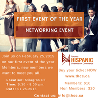 THCC First Networking Event 2015