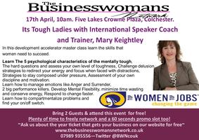 Its Tough Ladies, With International Speaker Coach and...