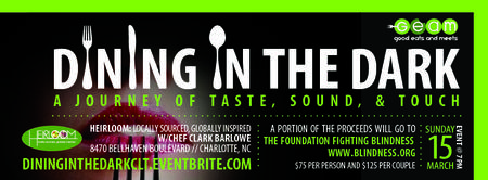 Dining in the Dark...A Journey of Taste, Sound and...