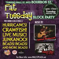 Fat Tuesday Block Party at Wall St. Plaza