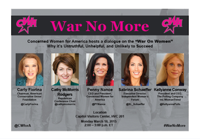 War No More Panel Discussion