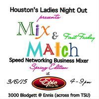 Mix & Match Speed Networking Business Mixer